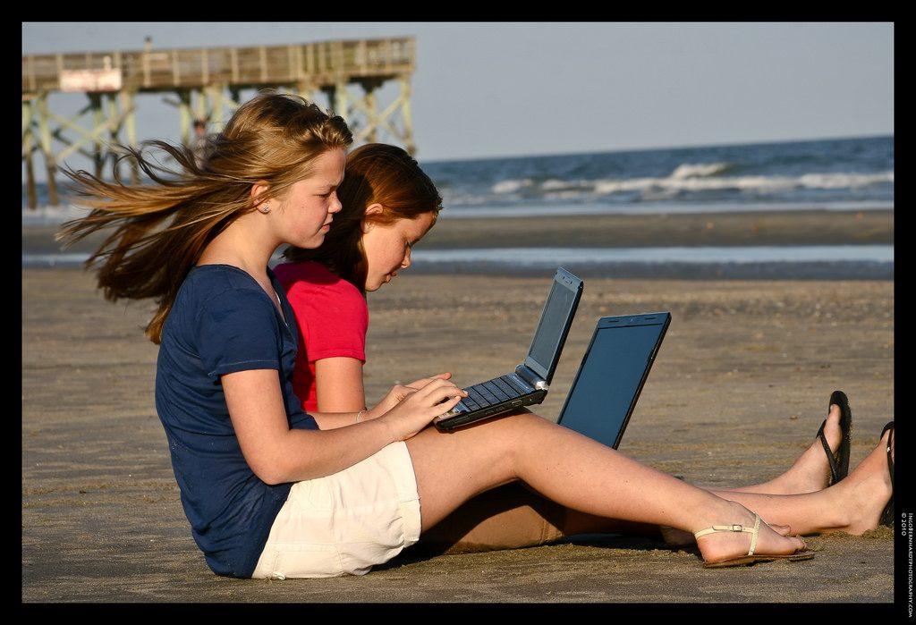 photo credit: Homework on the beach via photopin (license)